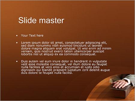 Шаблон PowerPoint Библия - Второй слайд