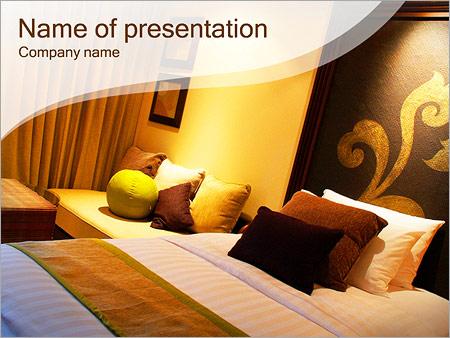 Шаблон презентации Дизайн комнаты - Титульный слайд