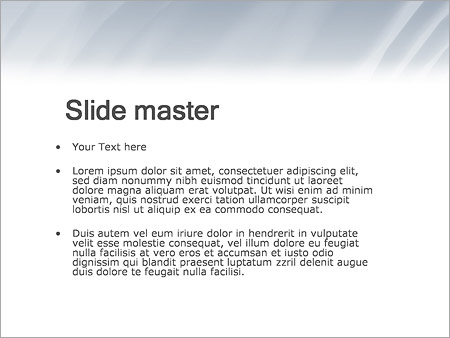 Шаблон PowerPoint Деловая женщина - Второй слайд