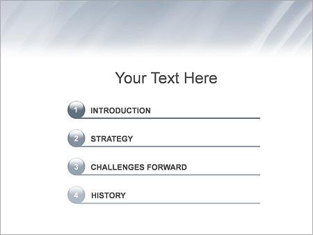 Шаблон для презентации Деловая женщина - Третий слайд