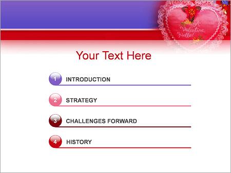 Шаблон для презентации День Святого Валентина - Третий слайд