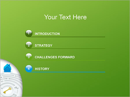 Шаблон для презентации Лабиринт - Третий слайд