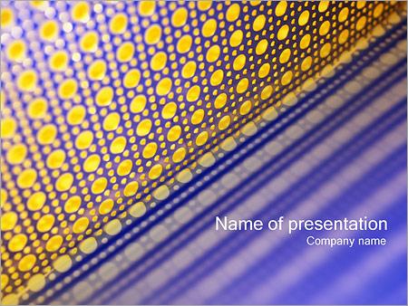 Шаблон презентации Сетка - Титульный слайд