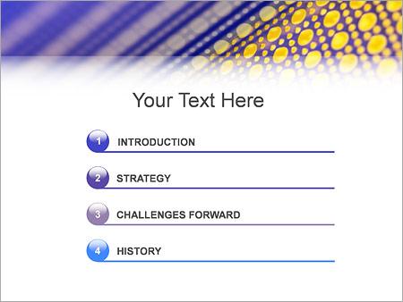Шаблон для презентации Сетка - Третий слайд