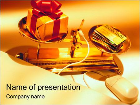 Шаблон презентации Кредит - Титульный слайд