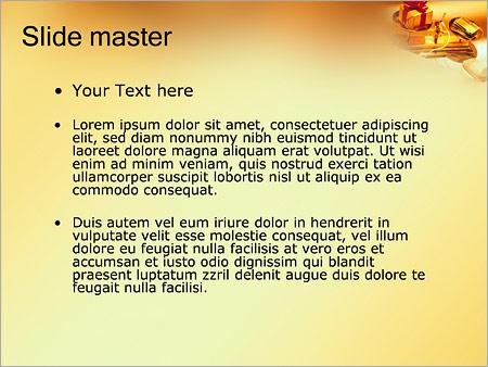 Шаблон PowerPoint Кредит - Второй слайд
