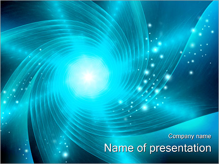 Шаблон презентации Абстрактная воронка - Титульный слайд