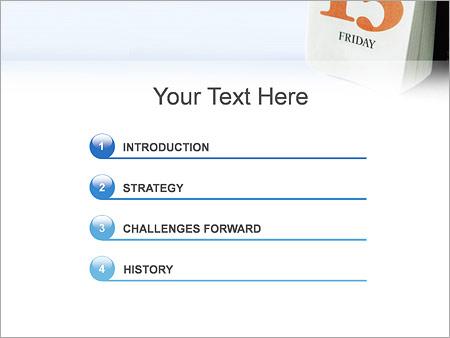 Шаблон для презентации Пятница 13 - Третий слайд