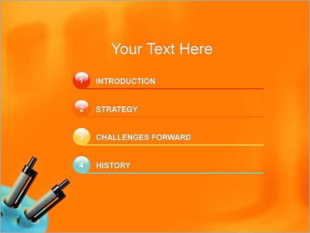 Шаблон для презентации Шариковые авторучки - Третий слайд