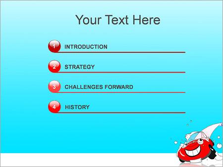 Шаблон для презентации Автомойка - Третий слайд
