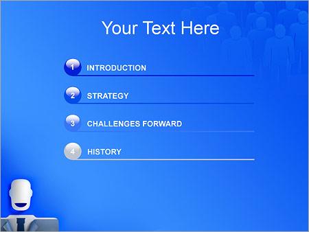 Шаблон для презентации Бизнесмен - Третий слайд