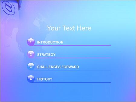 Шаблон для презентации Почтовый ящик с письмами - Третий слайд