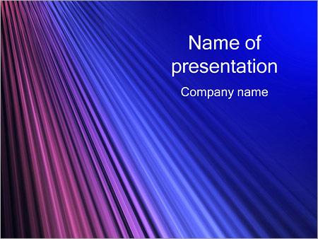 Шаблон презентации Абстрактные лучи - Титульный слайд