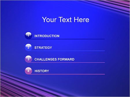 Шаблон для презентации Абстрактные лучи - Третий слайд