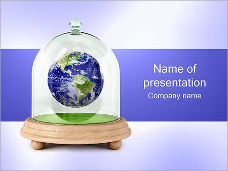 Шаблон презентации Планета земля в изоляции - Титульный слайд