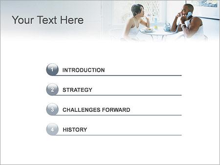 Шаблон для презентации Семейный обед - Третий слайд