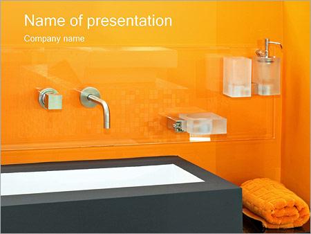 Шаблон презентации Ванная комната - Титульный слайд
