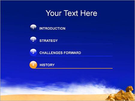 Шаблон для презентации Пирамида Сфинкс - Третий слайд