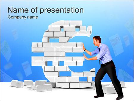 Шаблон презентации Обмен валюты - Титульный слайд