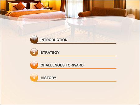 Шаблон для презентации Номер в отеле - Третий слайд