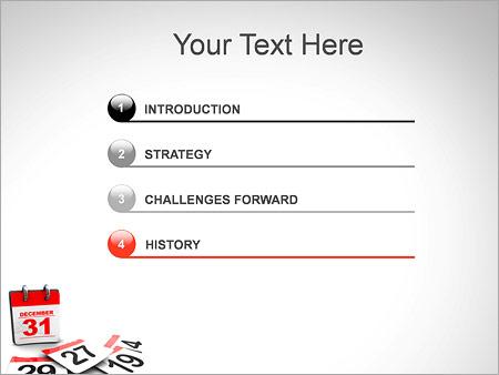 Шаблон для презентации Последний день года - Третий слайд