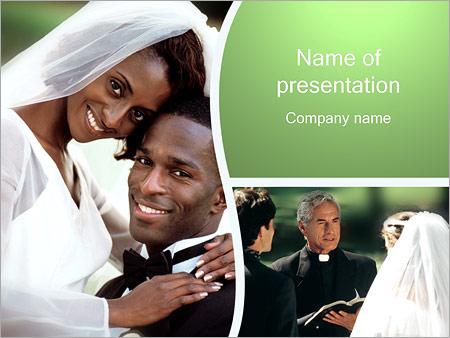 Шаблон презентации Брак - Титульный слайд
