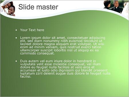 Шаблон PowerPoint Брак - Второй слайд