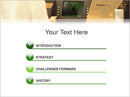 Шаблон для презентации Банкомат - Третий слайд