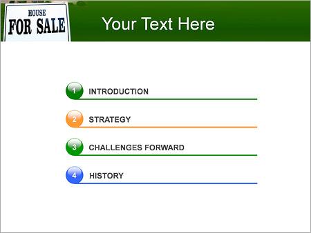 Шаблон для презентации Дом для продажи - Третий слайд