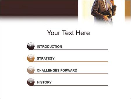 Шаблон для презентации Деловая беседа - Третий слайд