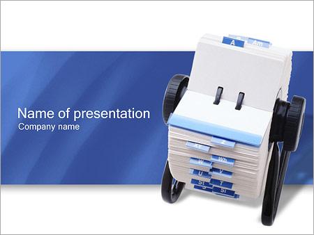Шаблон презентации Записная книжка - Титульный слайд