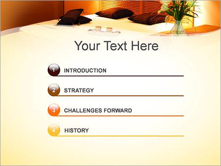 Шаблон для презентации Спальня - Третий слайд