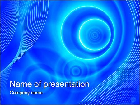 Шаблон презентации Параллельные вселенные - Титульный слайд