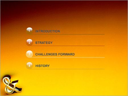 Шаблон для презентации Знак амперсанд - Третий слайд