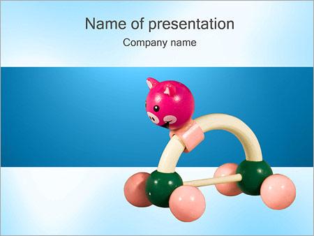 Шаблон презентации Игрушка - Титульный слайд