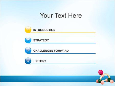 Шаблон для презентации Игрушка - Третий слайд