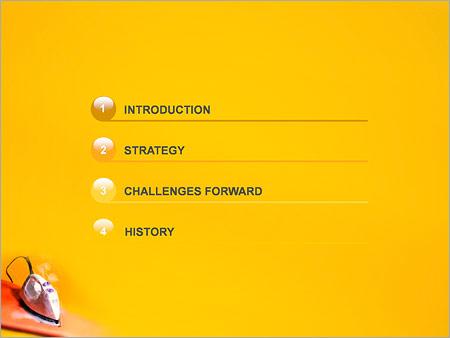 Шаблон для презентации Утюг - Третий слайд