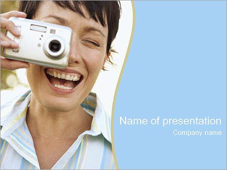 Шаблон презентации Фотографирование - Титульный слайд