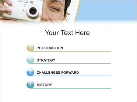 Шаблон для презентации Фотографирование - Третий слайд