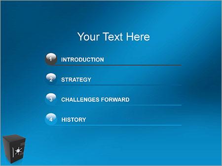 Шаблон для презентации Сейф - Третий слайд