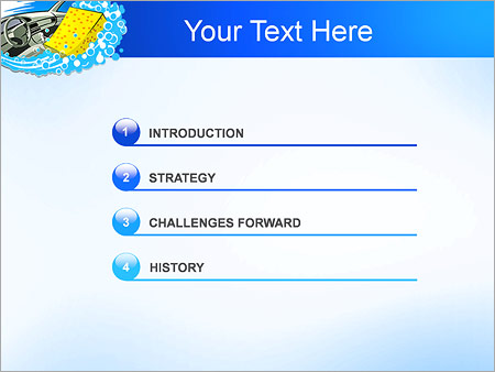 Шаблон для презентации Автомобильная мойка - Третий слайд