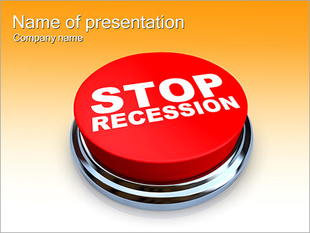 Шаблон презентации Кнопка СТОП - Титульный слайд