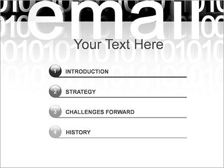 Шаблон для презентации E-Mail почта - Третий слайд