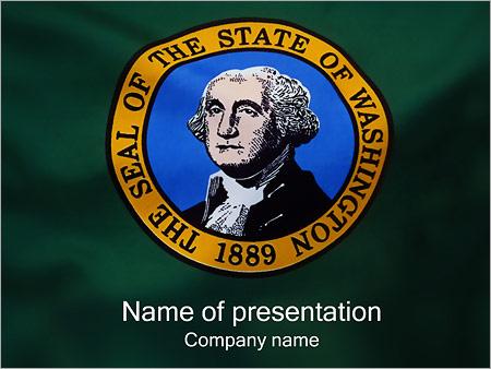 Шаблон презентации Джордж Вашингтон - Титульный слайд