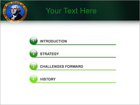 Шаблон для презентации Джордж Вашингтон - Третий слайд