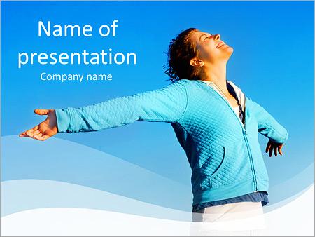 Шаблон презентации Дух свободы - Титульный слайд
