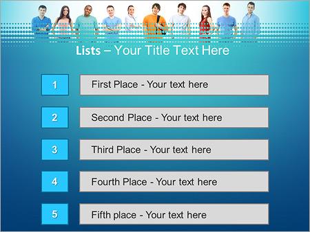 Шаблон для презентации Студенты - Третий слайд