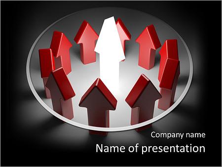 Шаблон презентации Лидер направляет всех - Титульный слайд