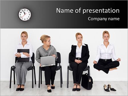 Шаблон презентации Устройство на работу - Титульный слайд