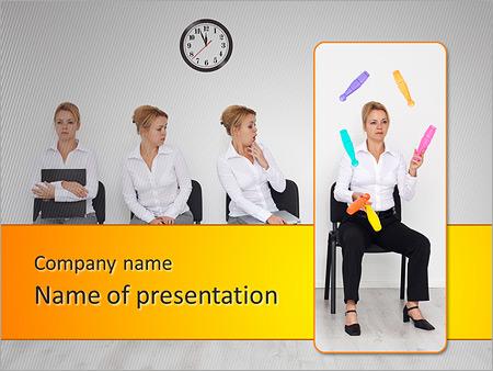 Шаблон презентации Секретарь - Титульный слайд